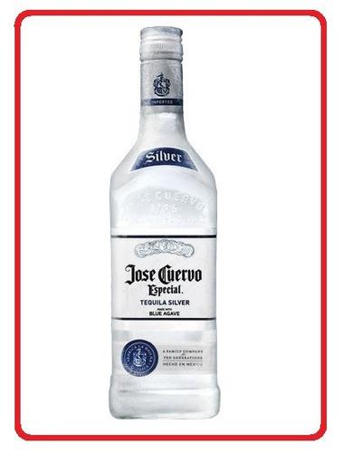 jose cuervo prata silver tequila 750ml 100% original lacrada