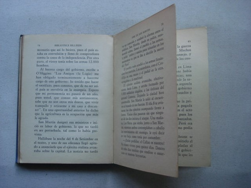 jose de san martin - biblioteca billiken - ed atlantida