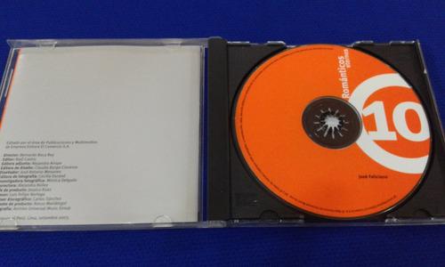jose feliciano cd promocion exitos baladas 80s