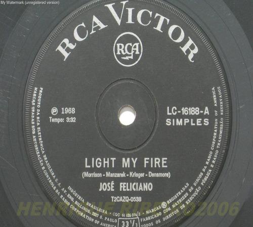 josé feliciano compacto light my fire
