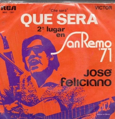 josé feliciano, qué será y 3 rolas más. ep. 1974