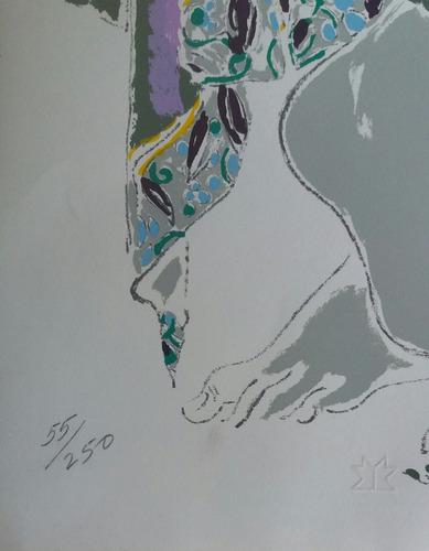 josé garcía ocejo litografía original