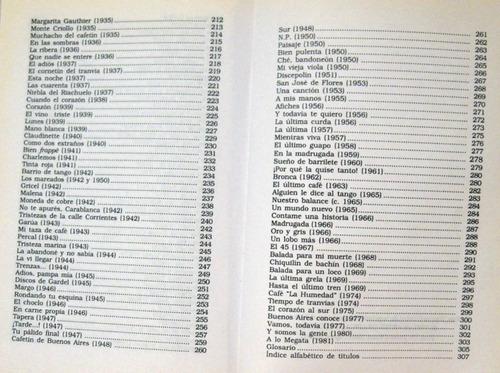 jose gobello letras de tangos selección 1897 - 1981