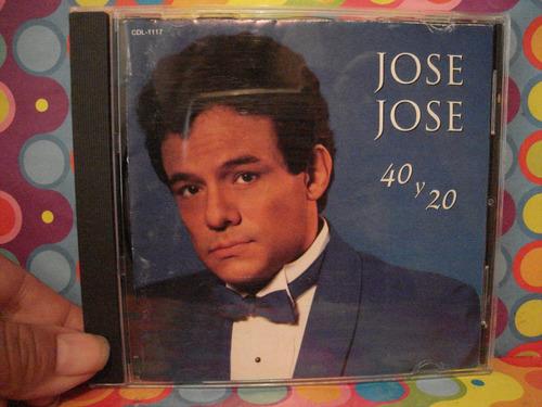 jose jose cd 40 y 20 edc.92
