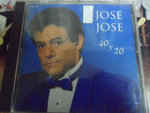 jose jose - cd album 40 y 20