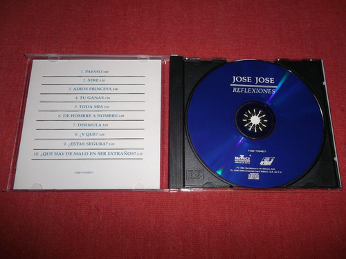 jose jose - reflexiones cd nac ed 1998 mdisk