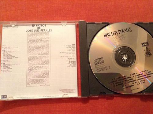 jose luis perales 15 éxitos cd album