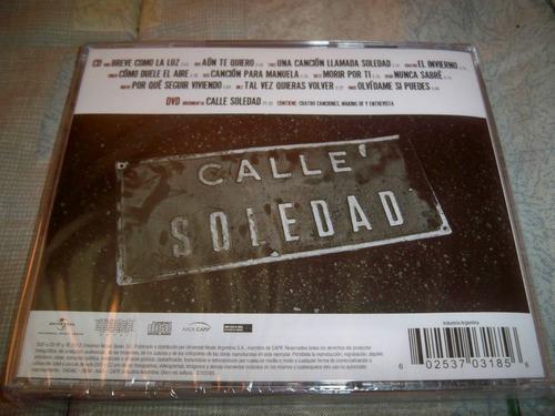 jose luis perales - calle soledad (cd + dvd) (2012)