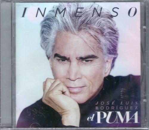 jose luis rodriguez el puma - inmenso cd 2017  los chiquibum