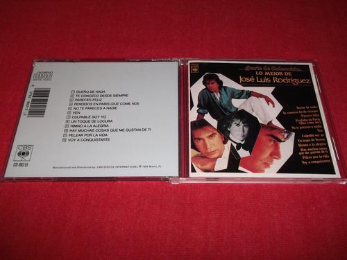 jose luis rodriguez - lo mejor cd importado ed 1989 mdisk