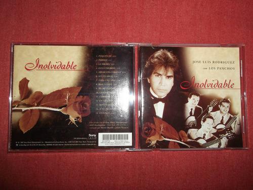jose luis rodriguez panchos inolvidable cd usa 1997 mdisk