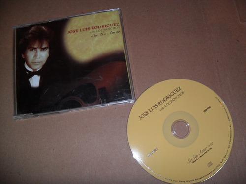 jose luis rodriguez sin un amor cd sencillo muy raro (k)