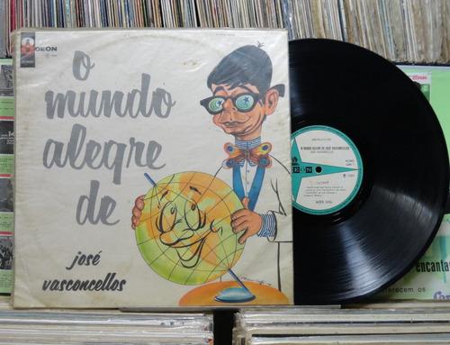 josé vasconcelos o mundo alegre -lp odeon 1966 mono raro