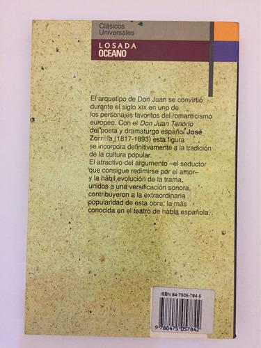 jose zorrilla don juan tenorio libro clasico literatura