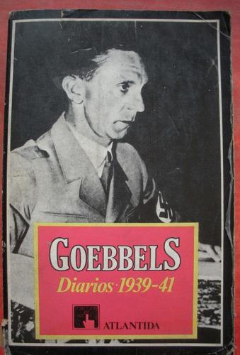 josef goebbels - diarios 1939-41