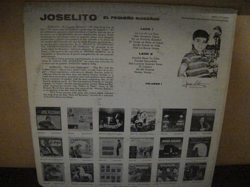 joselito lp el paqueño ruiseñor vol.1