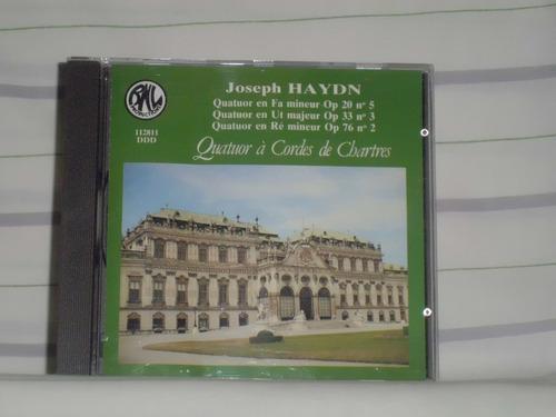 joseph haydn - quatuors op. 20, 33 et 76 - made in france