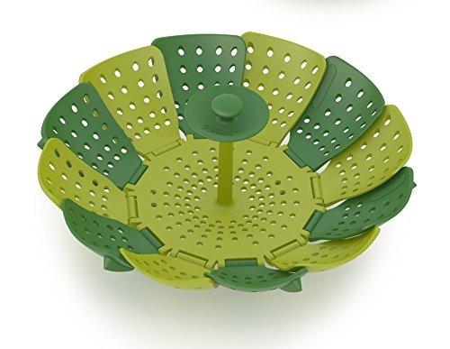 joseph joseph 40023 cesta de vaporizador lotus para cocinar