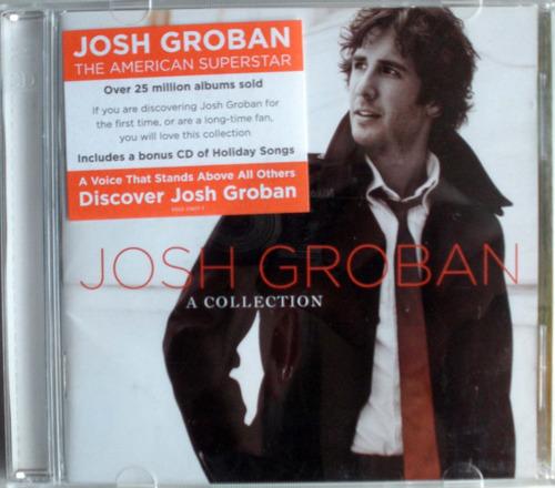 josh groban - a collection - 2 cdpromo nacional