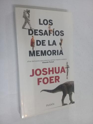 joshua foer  los desafios de la memoria - psicologia
