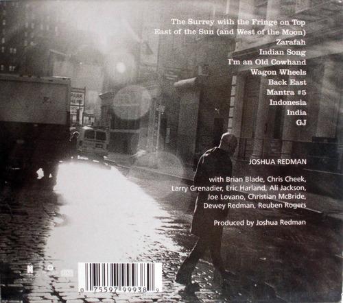 joshua redman - black east - cdpromo nacional - caja carton