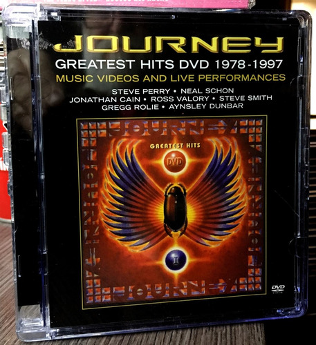 journey - greatest hits dvd 1978 - 1997 (2003)