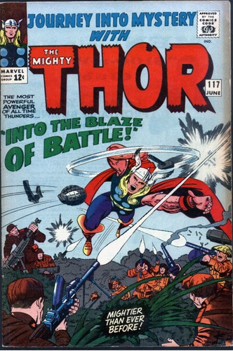 journey into mystery #117 jun de 1965 thor 6.0 (importado)