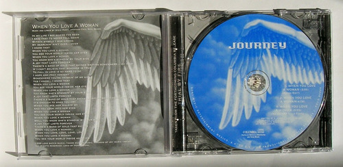 journey when you love a woman cd single mexicano