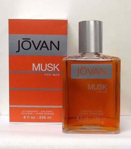 jovan musk aftershave 236ml caballero