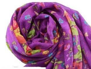 jovanas fashion lady womens colorful floral bufanda larga wr