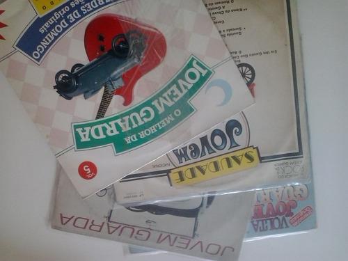 jovem guarda - 4 discos - nacional br