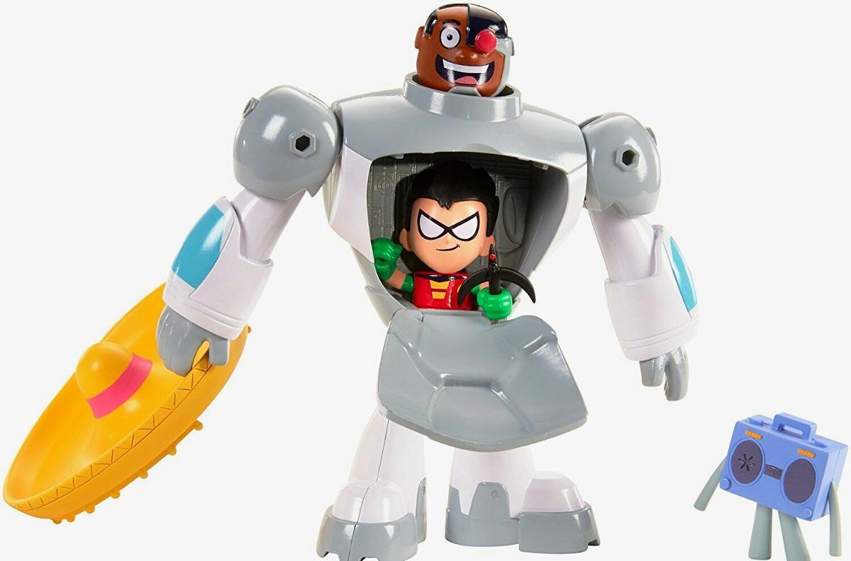 Jovenes Titanes - Teen Titans Go - Cyborg Y Robin Fusion -  39900 En Mercado Libre-1478