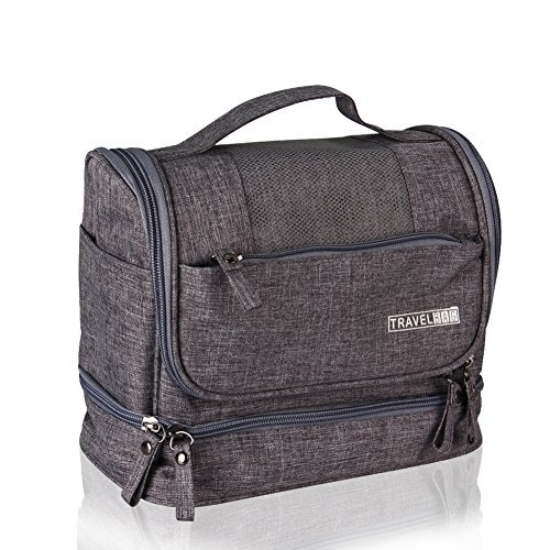 Jovilife Toiletry Bag Travel Toiletries Bag Sturdy Hanging O ... 8245add69e