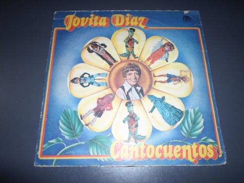 jovita diaz - cantocuentos * disco de vinilo