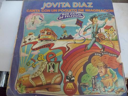 jovita díaz lp canta con un poquito de imaginación  duncant