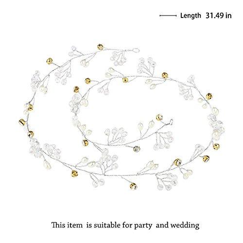 jovono wedding headpiece nupcial diadema hair vine accesori