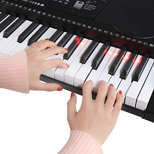 joy kl91m 61key lighting simulation teclas de piano teclado