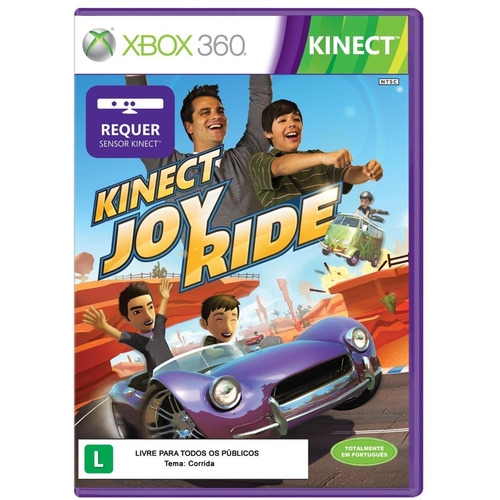 joy ride kinect xbox 360 original lacrado em português