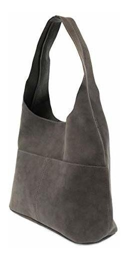 cc4c57b7eea3 Joy Susan Jenny Sueded Hobo Handbag