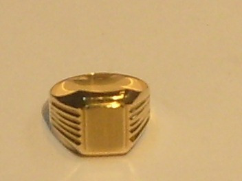 joyas anillo oro