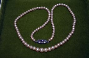 0f2f4190fbb0 Collar De Perlas Cultivo Antiguo - Joyas Antiguas en Mercado Libre ...