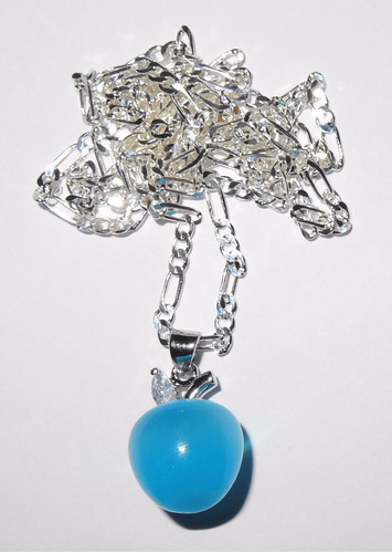 joyas cadena plata opalo