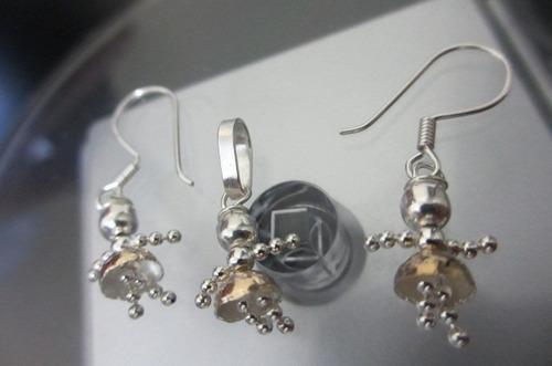 joyas colombianas para niñas c/ plata y baño oro