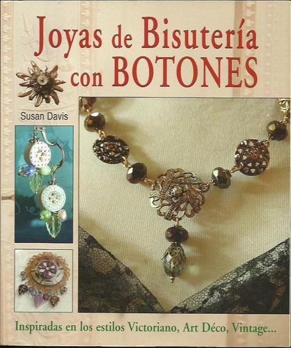 joyas de bisutería con botones