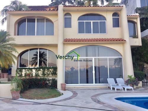 joyas de brisamar acapulco, excelente casa en fraccionamiento en venta