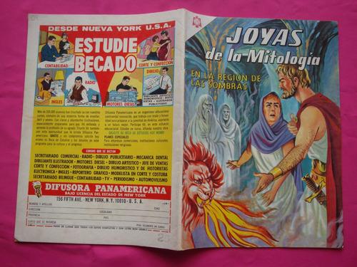 joyas de la mitologia nº 29 año 1965  editorial novaro