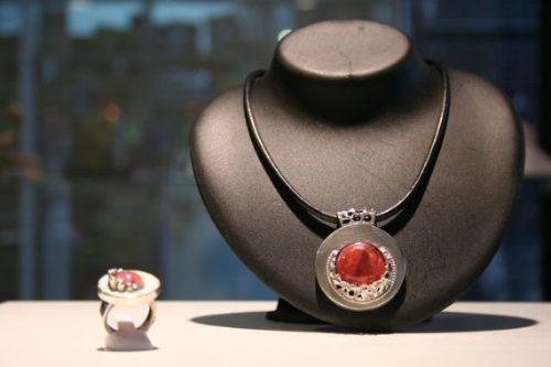 joyas plata piedras