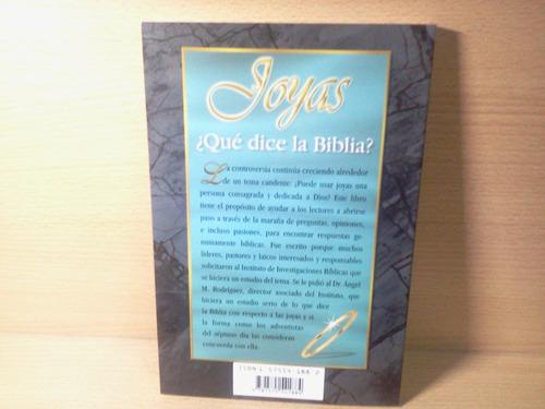 joyas ¿qué dice la biblia?