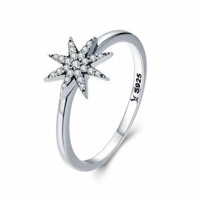 c21e861c472e Joyas Swarovski Anillo Estrella De Plata 925 Y Cristales
