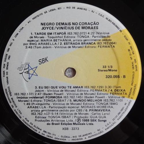 joyce - vinicius de moraes